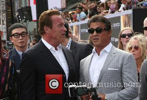 Arnold Schwarzenegger and Sylvester Stallone - Los Angeles premiere of 'Terminator Genisys' held at Dolby Theatre - Arrivals at Dolby...