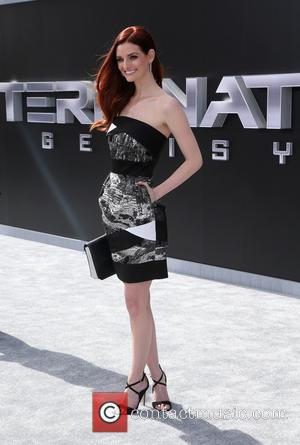 Lydia Hearst - Los Angeles premiere of 'Terminator Genisys' held at Dolby Theatre - Arrivals at Dolby Theatre - Hollywood,...