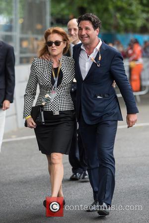 Sarah Ferguson, Duchess Of York and Giorgio Veroni
