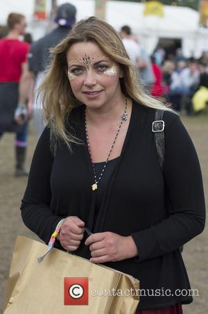 Charlotte Church - Glastonbury Festival 2015 - Day 5 - Celebrity Sightings at Glastonbury Festival - Somerset, United Kingdom -...