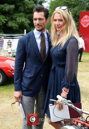 Jodie Kidd and David Gandy