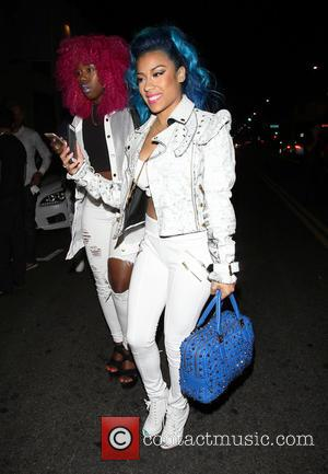 Keyshia Cole - BET after party held at Playhouse in Hollywood - Departures at Hollywood - Los Angeles, California, United...