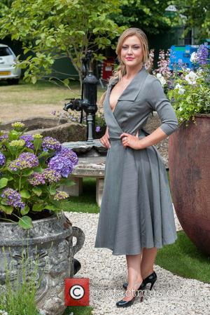 Camilla Kerslake - Celebrities attend a photocall during the RHS Hampton Court Flower Show 2015, press day. at Hampton Court...