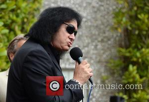Gene Simmons - Goodwood Festival of Speed 2015 - Day 4 - Prize Giving Ceremony - Chichester, West Sussex, United...