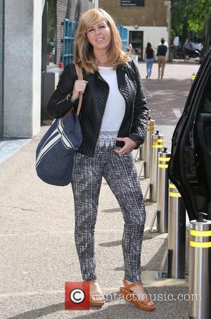 Kate Garraway - Kate Garraway outside ITV Studios - London, United Kingdom - Monday 29th June 2015