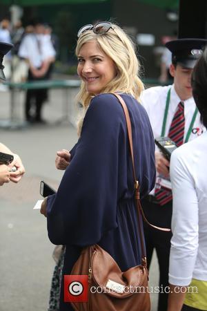 Lisa Faulkner - Wimbledon 2015 - Day 1 - Celebrity Sightings - London, United Kingdom - Monday 29th June 2015
