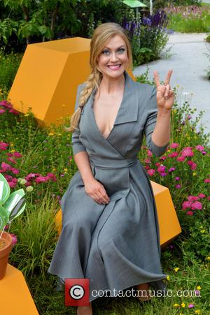 Camilla Kerslake - RHS Hampton Court Palace Flower Show - Press Day at Hampton Court, Hampton Court Palace - Surrey,...