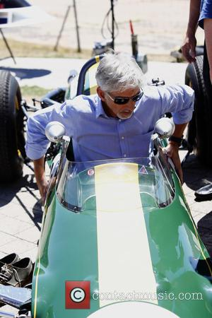 Damon Hill - Great British Bake Off star Paul Hollywood joins Formula One legends John Surtees, Damon Hill and Derek...