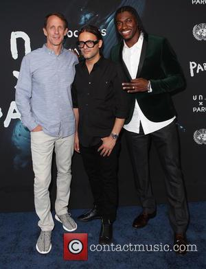 Eric Liedtke, Cyrill Gutsch and Robert Griffin III - United Nations x Parley For The Oceans Launch Event at the...