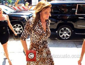 Caitlyn Jenner - Caitlyn Jenner sports a leopard print dress and high heels as she arrives at an office building...