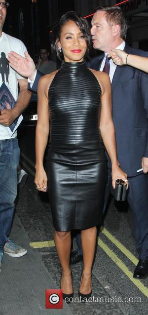 Jada Pinkett Smith - Jada Pinkett Smith arriving at the Ivy restaurant - London, United Kingdom - Tuesday 30th June...