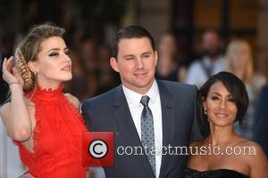 Amber Heard, Channing Tatum and Jada Pinkett Smith - Magic Mike XXL Premiere held at the Vue West End -...