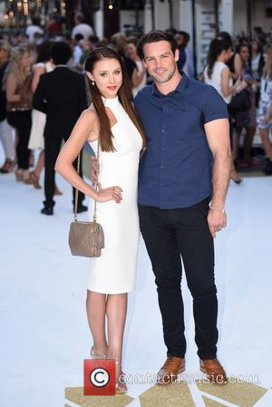 Una Foden and Ben Foden - Magic Mike XXL Premiere held at the Vue West End - Arrivals. - London,...