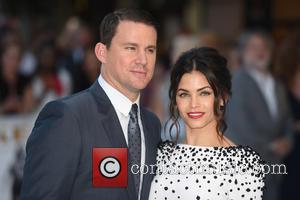 Channing Tatum and Jenna Dewan - Magic Mike XXL Premiere held at the Vue West End - Arrivals. - London,...