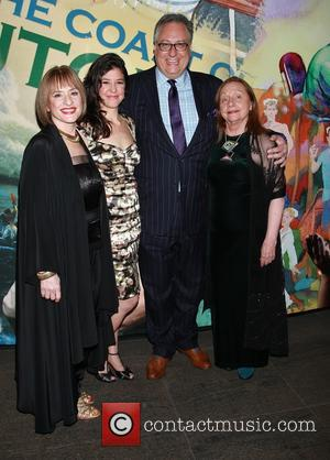 Patti Lupone, Zoe Winters, Douglas Carter Beane and Dale Soules