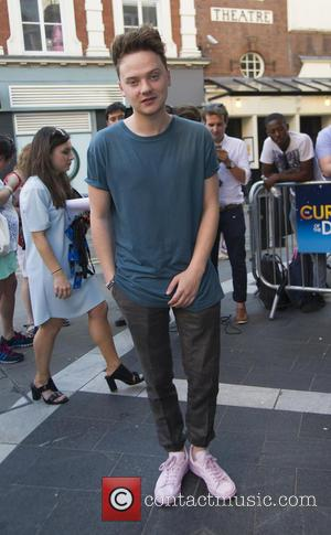 Conor Maynard - Various Celebrities arrive at The Curious Incident of the Dog in the Night-Time media night and after...
