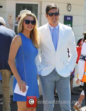Tess Daly and Vernon Kay - Wimbledon 2015 - Day 2 - Celebrity Sightings - London, United Kingdom - Tuesday...