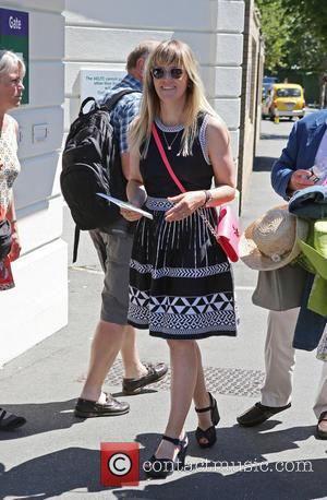 Edith Bowman - Wimbledon 2015 - Day 2 - Celebrity Sightings - London, United Kingdom - Tuesday 30th June 2015