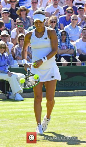 Heather Watson - Wimbledon Tennis Championships 2015 - Day 3 - Heather Clarke of the UK beats Daniela Hantuchova at...