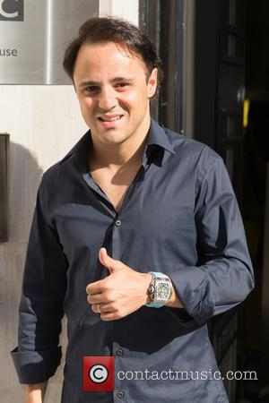 Felipe Massa - Felipe Massa leaving the BBC Radio 2 studios after appearing as a guest on the Chris Evans...