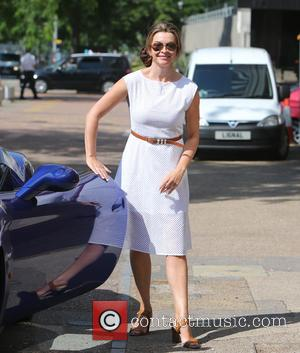 Suzi Perry - Suzi Perry outside the ITV Studios - London, United Kingdom - Wednesday 1st July 2015