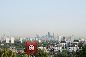 View and Atmosphere - In what is predicted to be the hottest day of the year, the City of London...