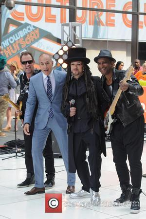 Matt Lauer, Boy George and Culture Club