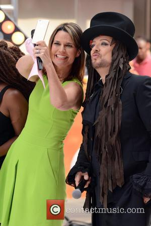 Savannah Guthrie and Boy George - Boy George performs on NBC's 'Today' show - Manhattan, New York, United States -...