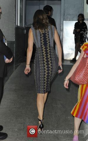 Hilary Swank - Hilary Swank at Huffington Post - Manhattan, New York, United States - Thursday 2nd July 2015