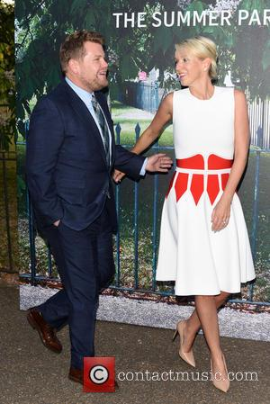 James Corden and Julia Carey - Serpentine Gallery summer party held in Kensington Gardens - Arrivals at Serpentine Gallery -...