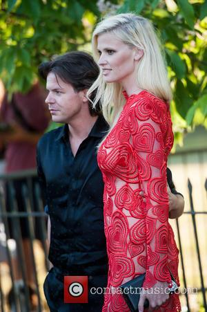 Christopher Kane and Lara Stone