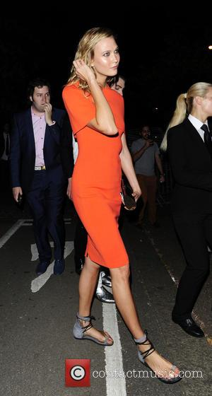 Karlie Kloss - Serpentine Gallery summer party held in Kensington Gardens - Departures at Serpentine Gallery - London, United Kingdom...