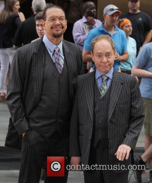 Penn Jilette and Teller - Boy George performs live on NBC Networks 'Today' show at The Today Show - New...