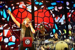 Fher Olvera, Alex Gonzalez and Maná