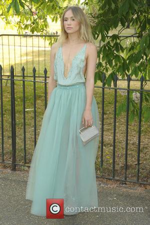 Suki Waterhouse - Serpentine Gallery summer party held in Kensington Gardens - Arrivals at Serpentine Gallery - London, United Kingdom...