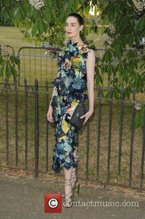 Erin O'Connor - Serpentine Gallery summer party held in Kensington Gardens - Arrivals at Serpentine Gallery - London, United Kingdom...