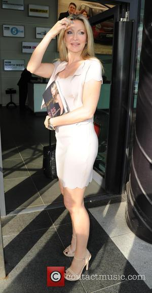 Caprice Bourret - Caprice Bourret arrives at the BBC Breakfast studios with her book 'My Boys, My Body, My Business'...