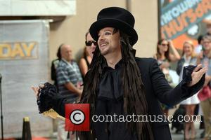 Boy George - Boy George performs live on NBC's 'Today' Show - Manhattan, New York, United States - Thursday 2nd...