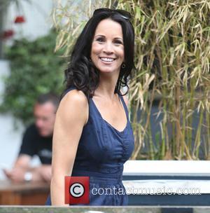 Andrea McLean - Andrea McLean outside ITV Studios - London, United Kingdom - Thursday 2nd July 2015