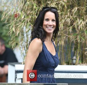 Andrea McLean - Andrea McLean outside ITV Studios - London, United Kingdom - Thursday 2nd July 2015