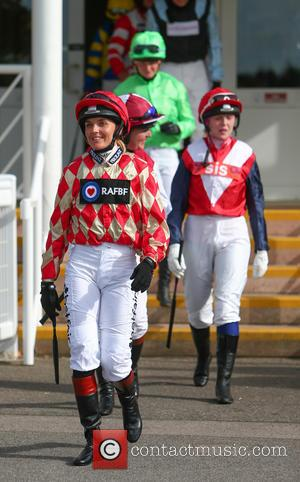 Victoria Pendleton - Victoria Pendleton makes her debut as a jockey riding Mighty Mambo in the George Frewer Celebration Stakes...