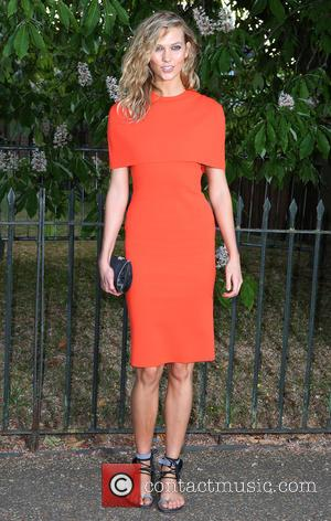 Karlie Kloss - Serpentine Gallery summer party held in Kensington Gardens - Arrivals at Kensington Gardens, Serpentine Gallery - London,...