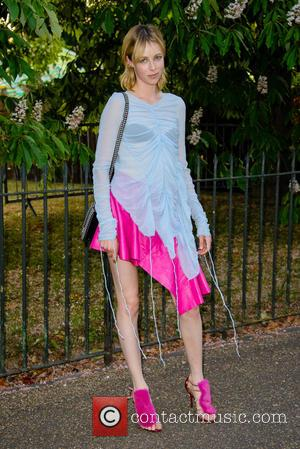 Edie Campbell - Serpentine Gallery summer party held in Kensington Gardens - Arrivals at Serpentine Gallery - London, United Kingdom...