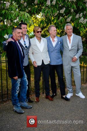 John Keeble, Tony Hadley, Steve Norman, Gary Kemp and Martin Kemp