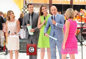 Natalie Morales, Carson Daily, Savannah Guthrie, Matt Lauer and Dylan Dryer - Recording of NBC's the 'Today' show - New...