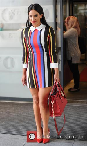 Vicky Pattison - Vicky Pattison leaving the BBC Radio 1 studios - London, United Kingdom - Thursday 2nd July 2015