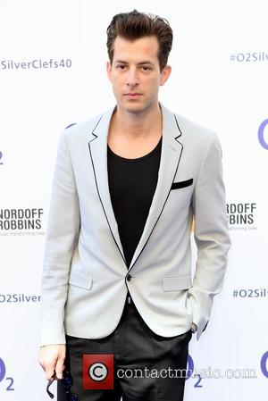 Mark Ronson - Red Carpet arrivals for the 02 Silver Clef Awards 2015 held at Grosvenor House, Park Lane, London...