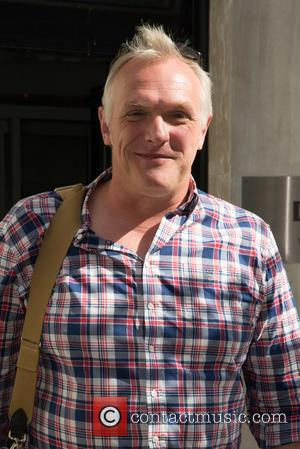 Greg Davies - Greg Davies pictured arriving the Radio 2 studio at BBC Western House - London, United Kingdom -...