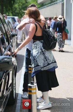 Ferne McCann - Ferne McCann outside ITV Studios - London, United Kingdom - Friday 3rd July 2015
