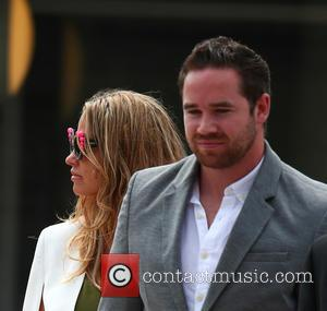 Katie Price and Kieran Hayler - Katie Price leaves Horsham Magistrates' Court, accompanied by her husband Kieran Hayler and her...